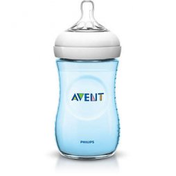 Avent Biberon Natural +1M Azul 260ml