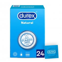 Durex Natural Plus Easy On 24uds