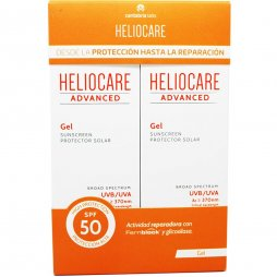 Heliocare Advanced Gel Protector SPF50 2x200ml