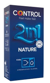 Control Nature + Gel 2 In 1 6uds